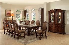 von furniture dresden formal dining room set in cherry