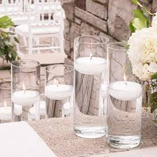 Water Beads Centerpieces 10 Inch Glass Cylinder Vase