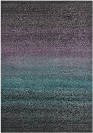 Purple And Black Area Rugs Ashbury Purple Turquoise Grey And Black Area Rug 5 X 8
