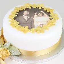 Wedding Anniversary Cakes Personalised Wedding Anniversary Cake Decorating Kit By Clever
