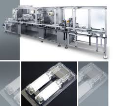 plastic film thermoforming machine for pharmaceuticals packaging