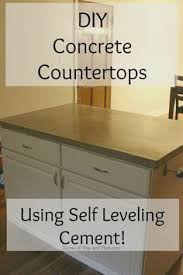 how to make diy cast in place white concrete countertops plastic