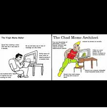 Sophisticated Cat Meme Generator - the virgin meme maker the chad meme architect coujure up memes in