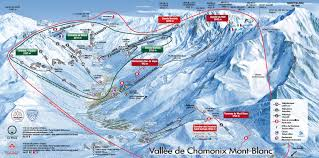 Italy Mountains Map by Chamonix Mont Blanc Trail Map