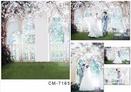 wedding vinyl backdrop floral wedding photography backdrop indoor vinyl backdrop for