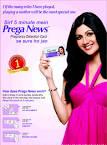 prega news pregnancy test