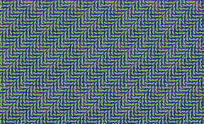 Optical Illusion Wallpaper by Optical Illusion Pattern Abstract Leaves Animal Collective