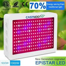 epistar led grow light castnoo 500w 1000w led grow light full spectrum indoor hydro veg
