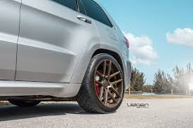 jeep srt rims jeep grand cherokee srt8 velgen wheels vmb5 satin bronze