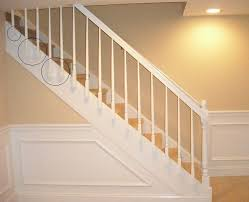 Banister Stair Install Wood Stair Railing Install Wood Stair Railing Automotive