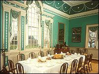Dinner With George  NPR - Mount vernon dining room