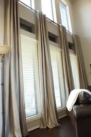 Hanging Curtains High And Wide Designs Hang Drapes Like This French Finishes And Flourishes