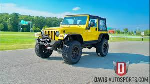 jeep wrangler tj rubicon for sale davis autosports jeep wrangler tj rubicon everything