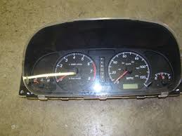 used isuzu rodeo instrument clusters for sale