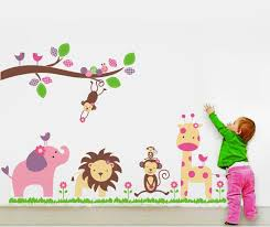 adorable giraffe animal nursery wall decal height chart wall full size of baby nursery cute animal zoo nursery wall decal vinyl wall art jungle