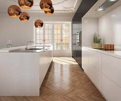 Timber Kitchen Designs Uno Form U Serie Black Oak And Glacier White Kitchen Kitchen