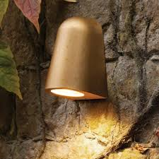Antique Brass Outdoor Wall Lights by Brass Outdoor Downlight Cl 33802 Product E2 Contract Lighting Uk