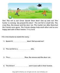 worksheets short stories for grade 3 with question