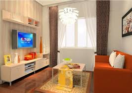 Orange Sofa Living Room by Orange Sofa Render Modern Living Room China 3d House