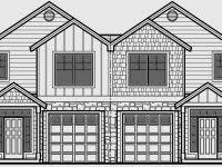 narrow lot house plans with drive under garage homes zone