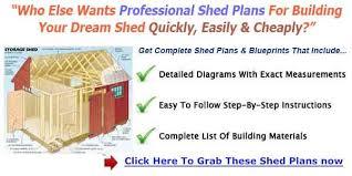 Garden Shed Plan 8 8 Garden Shed Building Plans U0026 Blueprints For Simple Gable Shed