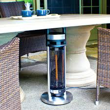 patio heater natural gas infrar gasmate outdoor tabletop patio heater home depot heaters