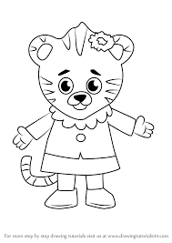 snow tiger coloring page drawing how to draw a baby snow tiger plus how to draw a baby