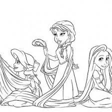 disney pixar frozen princess anna coloring pages place color