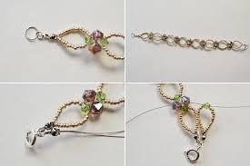 handmade flower bracelet images Diy handmade flower bracelet with seed beads and glass beads jpg