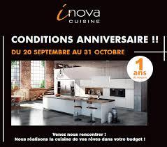 anniversaire cuisine inova cuisine gilles promo anniversaire 1 cuisines