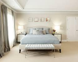 deco chambre et taupe chambre taupe literie bleu ciel et rideaux gris assortis chambre