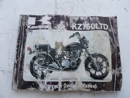 1980 kawasaki kz 750 h1 ltd original owners manual u2022 cad 56 25