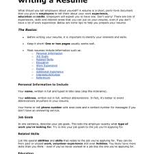 Resume It Template Write Your Resume It Template How To Write Stuff Org Career