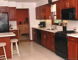 Espresso Cabinets With Black Appliances Kitchen Cabinets With Black Appliances Farishweb Com