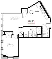 and bathroom floor plans 1 bed 1 bath apartment in rochester ny spectra at sibley square