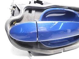 bmw e60 5 series right front exterior door handle blue comfort