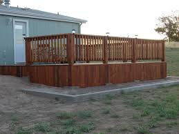deck fascia along uneven ground building u0026 construction diy