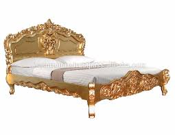 Rococo Bed Frame Rococo Bed Frame Rococo Bed Gold Finished Carved Wood