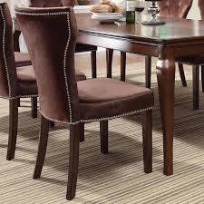 kingston dining room table acme furniture kingston formal dining side chair rooms for less