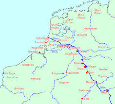 germania map history