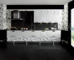 Black Backsplash Kitchen Kitchen Sleek And Chic Modern Kitchens That Make Their Own Cuts