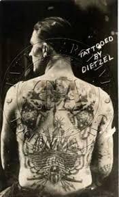 amund dietzel circa 1914 tattoo history pinterest amund