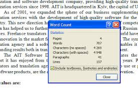 Count Words In Excel Different Word Count Results Research Word Count