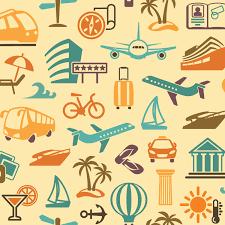 travel symbols images Travel symbols wallpaper wall decor jpg