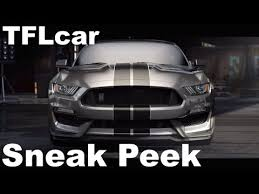 fastest stock mustang made 2016 ford mustang shelby gt350 sneak peek at ford s fastest