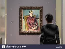 Madame Cezanne In A Red Armchair By Paul Cezanne 1890 Stock Photos U0026 By Paul Cezanne 1890 Stock