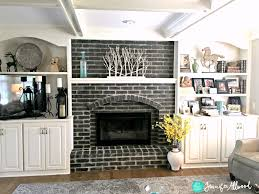 paint colors for brick fireplace latest should i whitewash my