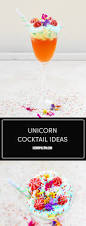 unicorn cocktails colorful cocktail ideas
