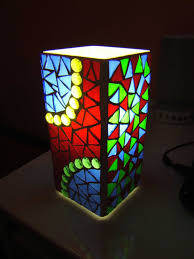 Mosaic Table Lamp A Grono Mosaic Lamp Ikea Hackers Ikea Hackers