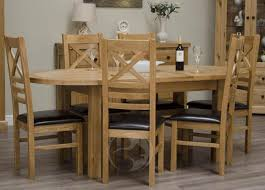 Rustic Oak Dining Tables Oak Dining Table Set Uk Best Gallery Of Tables Furniture